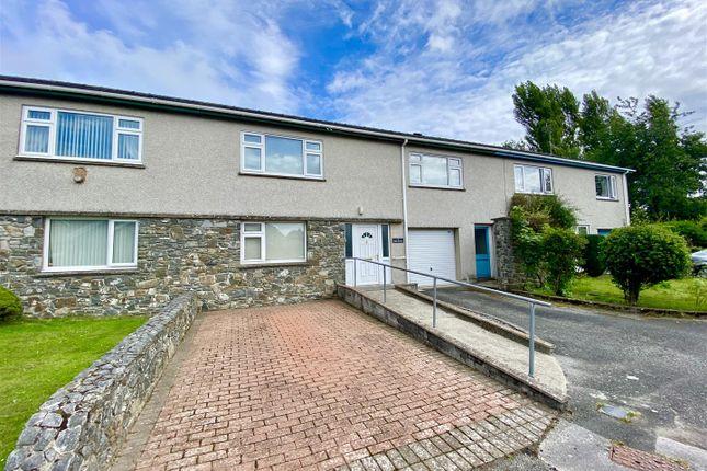 Thumbnail Terraced house for sale in Bro Llwyn Estate, Pwllheli