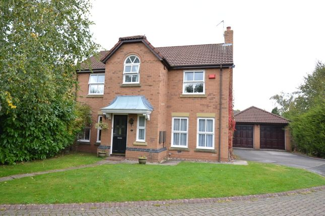 Thumbnail Detached house to rent in Cragside Way, Wilmslow