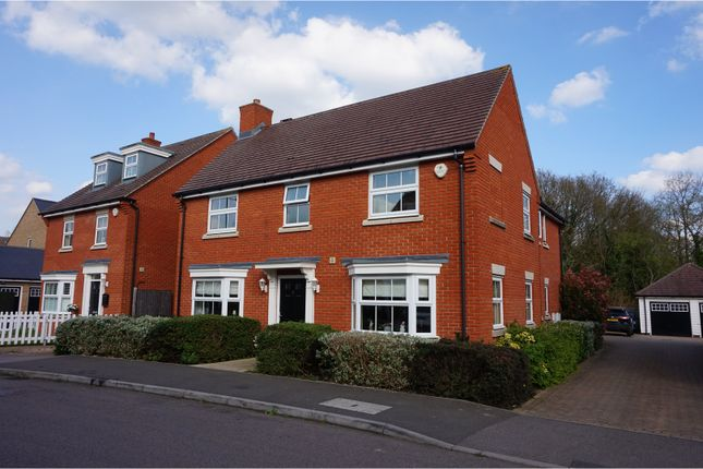 Thumbnail Detached house for sale in Hubberd Road, Dunmow