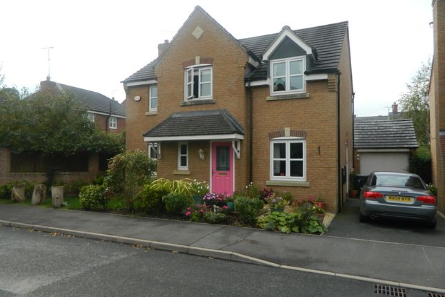 Thumbnail Detached house for sale in Penley Hall Drive, Penley, Wrexham
