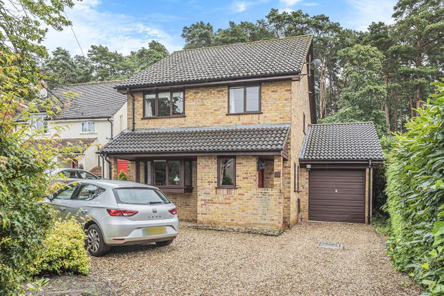 Thumbnail Detached house for sale in Furzehill Crescent, Crowthorne, Berkshire