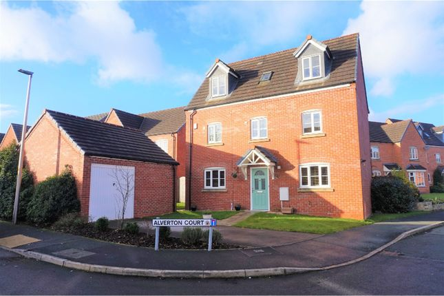 Thumbnail Detached house for sale in Chatsworth Fold, Wigan