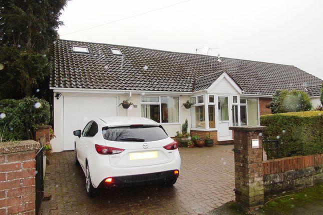 Thumbnail Semi-detached bungalow for sale in Longmeadow Drive, Dinas Powys