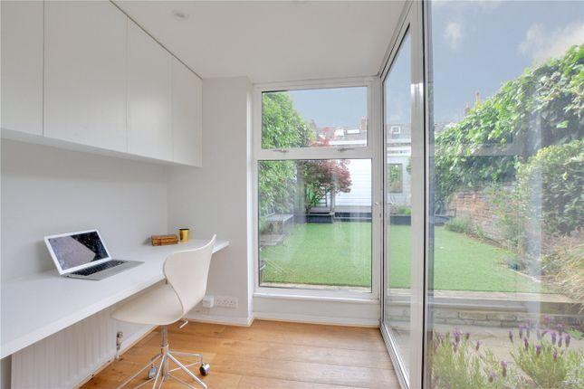 Study Area of Prior Street, London SE10