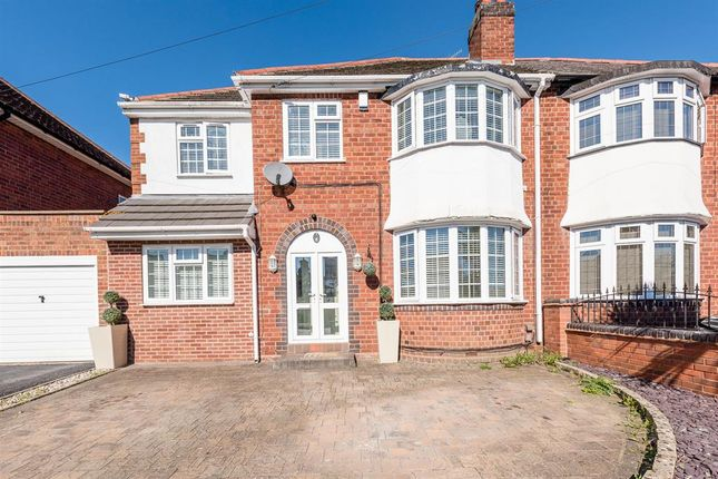 Thumbnail Semi-detached house for sale in Graham Road, Kingswinford