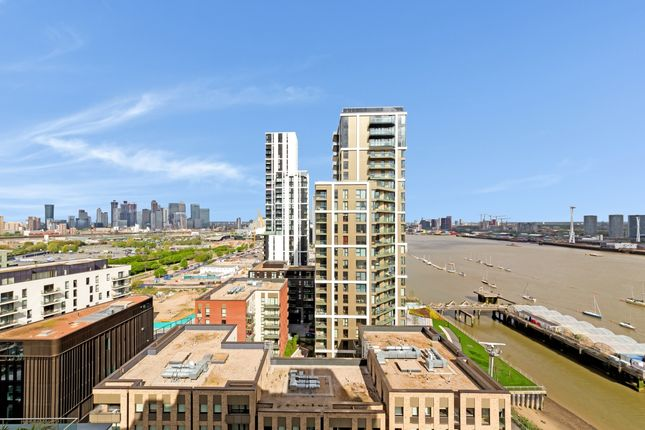 External View of City Peninsula, Barge Walk, Greenwich SE10
