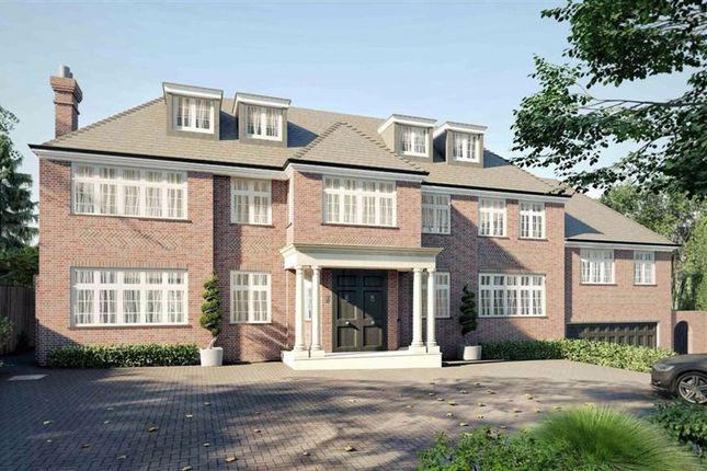 Thumbnail Detached house for sale in Grange Avenue, Totteridge, London
