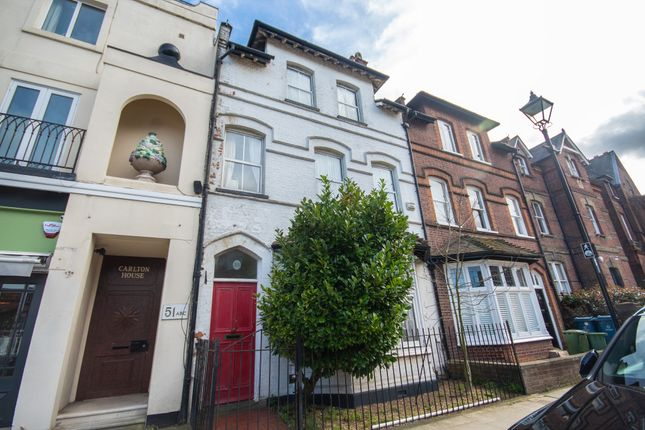 Thumbnail Terraced house for sale in High Street, Harrow On The Hill, Middlesex