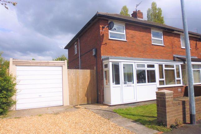 Thumbnail Semi-detached house for sale in Birch Dale Avenue, Wrockwardine Wood, Telford