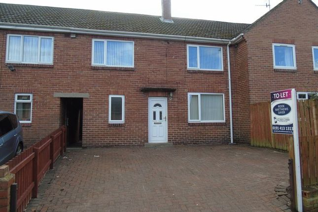Thumbnail Terraced house to rent in Lime Grove, Ryton
