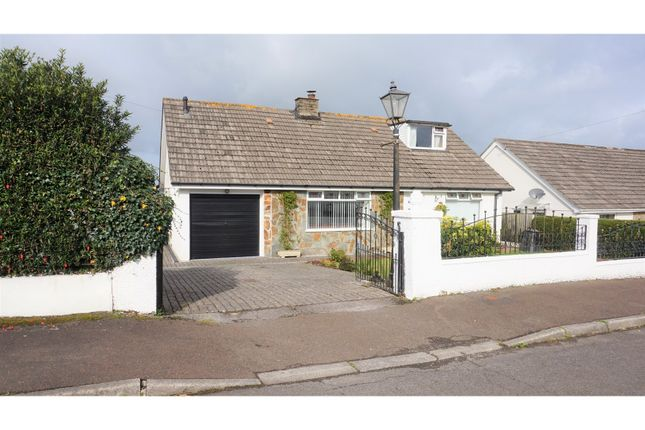 Thumbnail Detached bungalow for sale in Humphreys Close, Liskeard