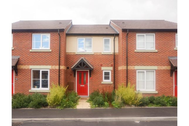 Thumbnail Terraced house for sale in Vesey Court, Wellington Telford