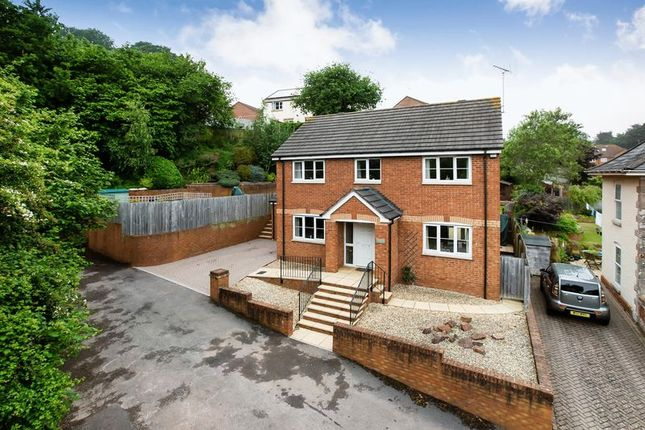 Thumbnail Detached house for sale in Marley Road, Exmouth