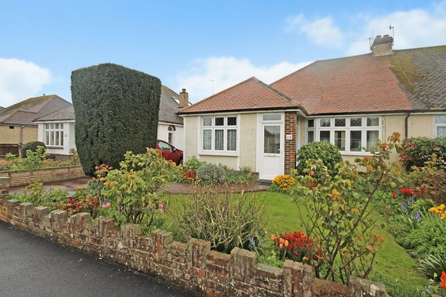 Thumbnail 3 bed semi-detached bungalow to rent in Seaside Avenue, Lancing