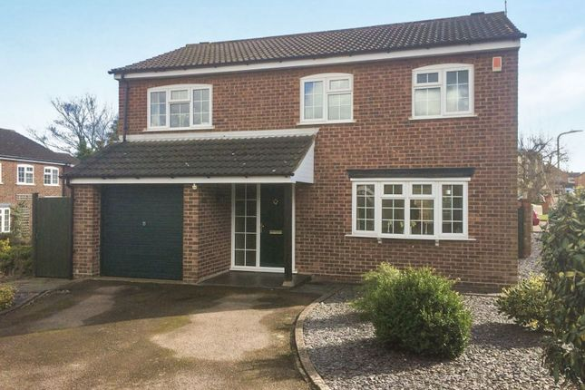 Thumbnail Detached house for sale in Prospect Road, Kibworth, Leicester