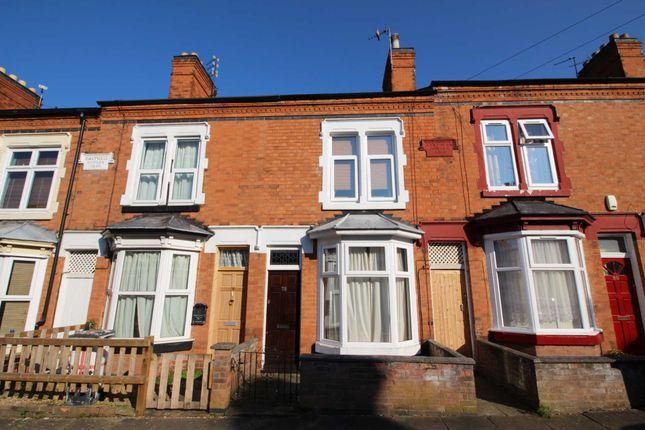 Thumbnail Terraced house for sale in Sylvan Street, Leicester
