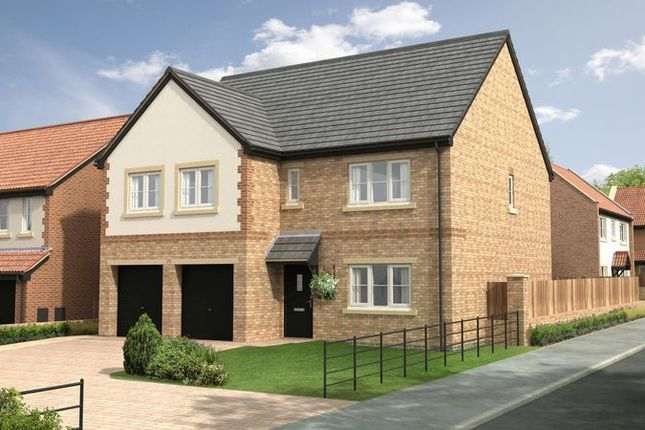 Thumbnail Detached house for sale in The Redwood At Nursery Gardens, Stannington, Morpeth (2221 Sq.Ft.)