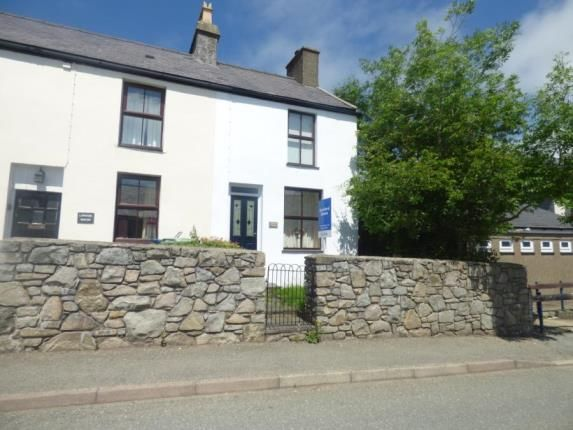 Thumbnail Semi-detached house for sale in Llithfaen, Pwllheli, Gwynedd
