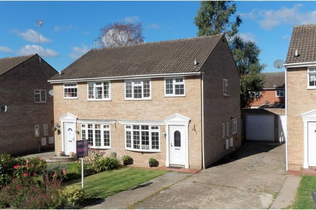Thumbnail Semi-detached house for sale in Hadleigh Gardens, Frimley Green