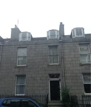 Thumbnail Flat to rent in Crown Street, Flat D, Aberdeen