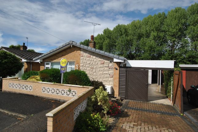 Thumbnail Detached bungalow for sale in The Cloisters, Wombridge, Telford, Shropshire