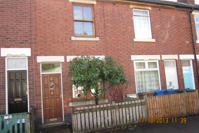 Thumbnail 3 bed terraced house to rent in Vivian Street, Derby