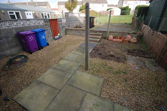 Rear Garden of Links Road, Saltcoats KA21