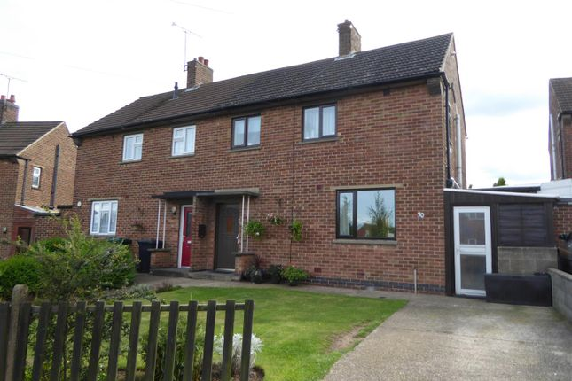 Thumbnail Semi-detached house for sale in Lincoln Way, Midway, Swadlincote