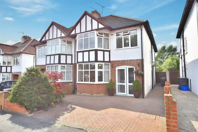 Thumbnail Semi-detached house for sale in Monkswood Avenue, Waltham Abbey