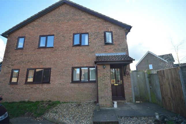 Thumbnail End terrace house for sale in Nutwood Close, Thorpe Marriott, Taverham, Norwich, Norfolk