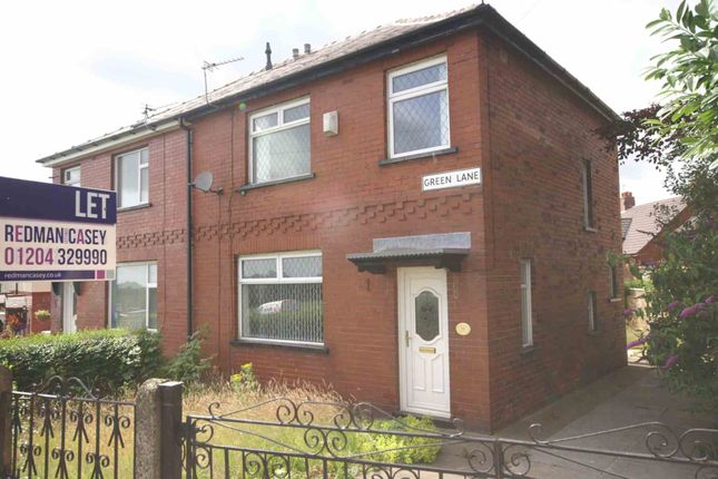 Thumbnail Semi-detached house to rent in Green Lane, Horwich, Bolton