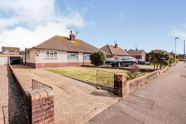 Thumbnail Semi-detached bungalow for sale in Rackham Road, Worthing
