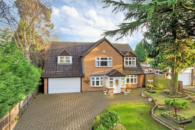 Thumbnail Detached house for sale in The Broadway, Oadby, Leicester