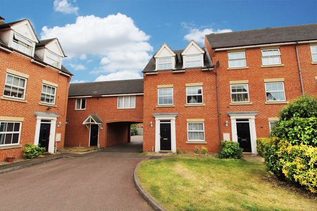 Thumbnail Terraced house for sale in Croyland Drive, Elstow, Bedford