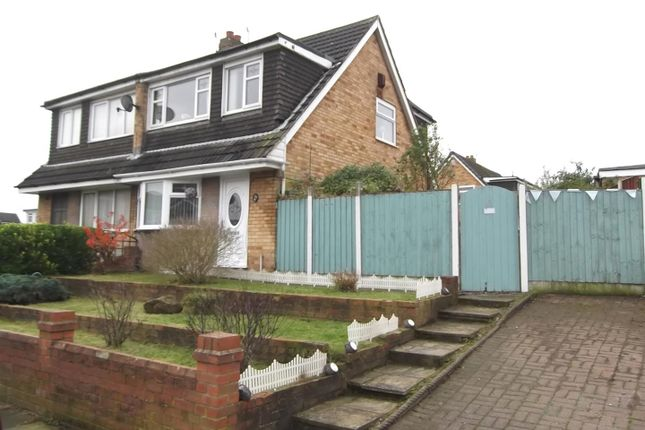 Thumbnail Semi-detached house for sale in Woolacombe Avenue, Sutton Leach, St. Helens