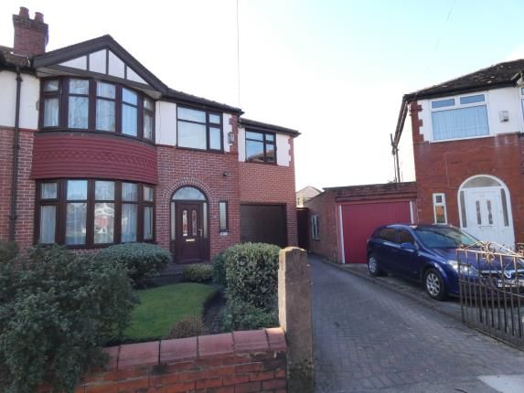 Thumbnail Semi-detached house for sale in Henley Avenue, Firswood, Manchester, Greater Manchester
