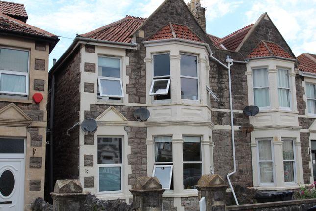 Thumbnail Flat for sale in Osborne Road, Weston-Super-Mare