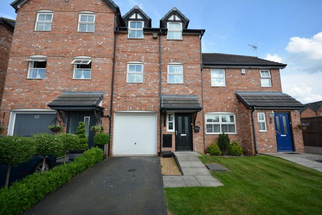 Thumbnail Town house for sale in Farrier Court, Crewe