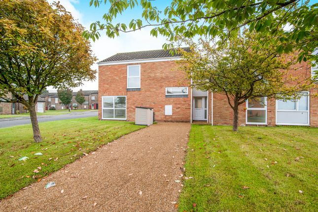 Thumbnail End terrace house for sale in Pine Close, Raf Lakenheath, Brandon