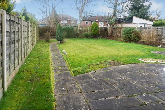 Garden of St. Anns Road North, Heald Green, Cheadle SK8
