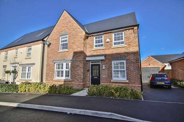Thumbnail Detached house for sale in Jasper Tudor Crescent, Llanfoist, Abergavenny