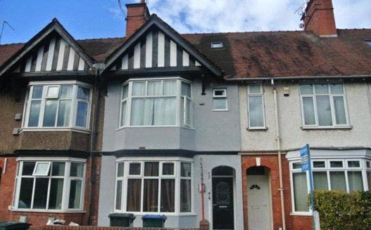 Thumbnail Terraced house to rent in St Patricks Road, City Centre, Coventry, West Midlands