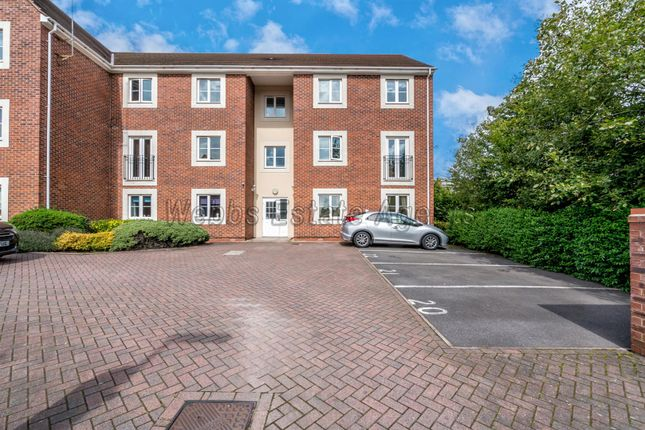 Thumbnail Flat to rent in Railway View, Hednesford, Cannock