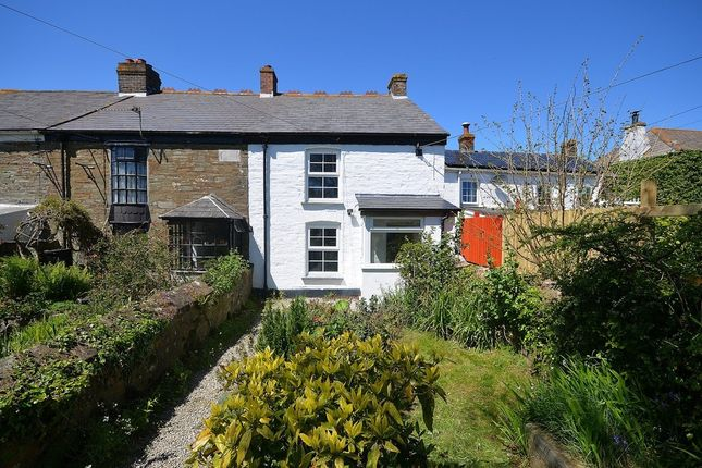 Thumbnail Cottage for sale in Short Cross Road, Mount Hawke, Cornwall