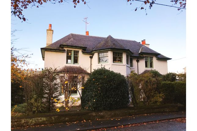 Thumbnail Detached house for sale in Old Crieff Road, Aberfeldy