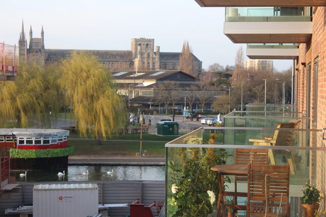 Thumbnail Flat for sale in East Station Road, Fletton Quays, Peterborough
