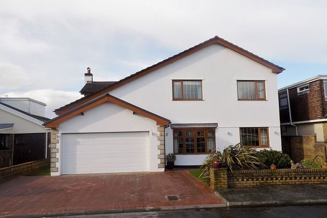 Thumbnail Detached house for sale in Long Acre Court, Nottage, Porthcawl, Bridgend.