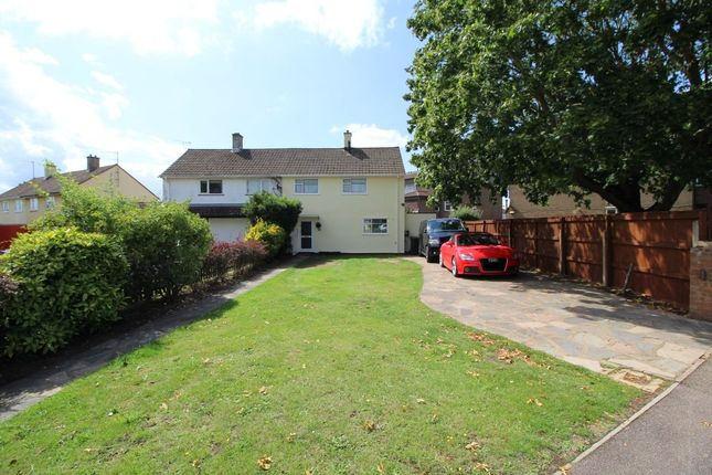 Thumbnail Semi-detached house for sale in Cody Road, Clapham, Bedford, Bedfordshire