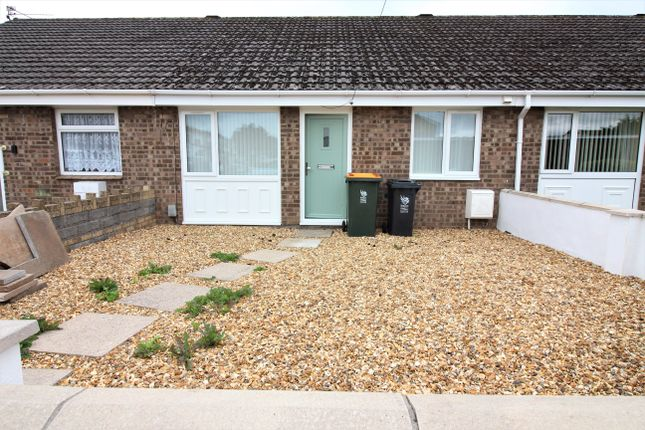 Thumbnail Terraced bungalow for sale in Westmoor Close, Newport