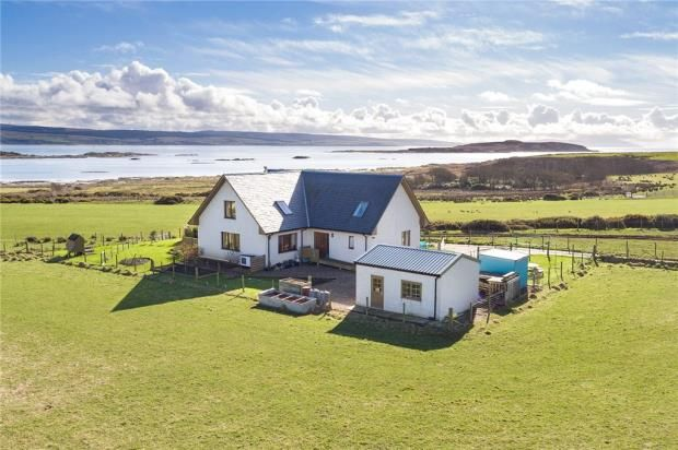 Thumbnail Detached house for sale in Cnoc An Lein, Isle Of Gigha, Argyll And Bute